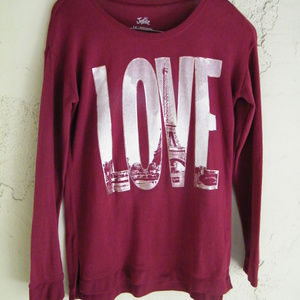 Sweater Love & the Eiffel tower Justice Girls 14